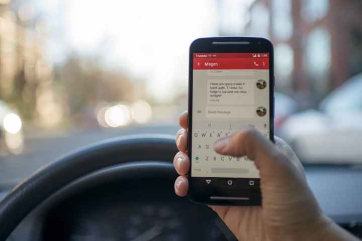 blur car cellphone contemporary